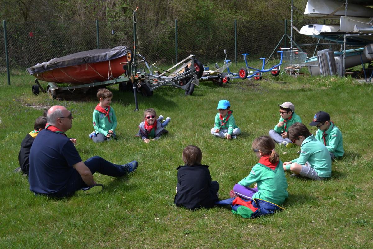 14  Avril Accueil des Scouts de Strasbourg